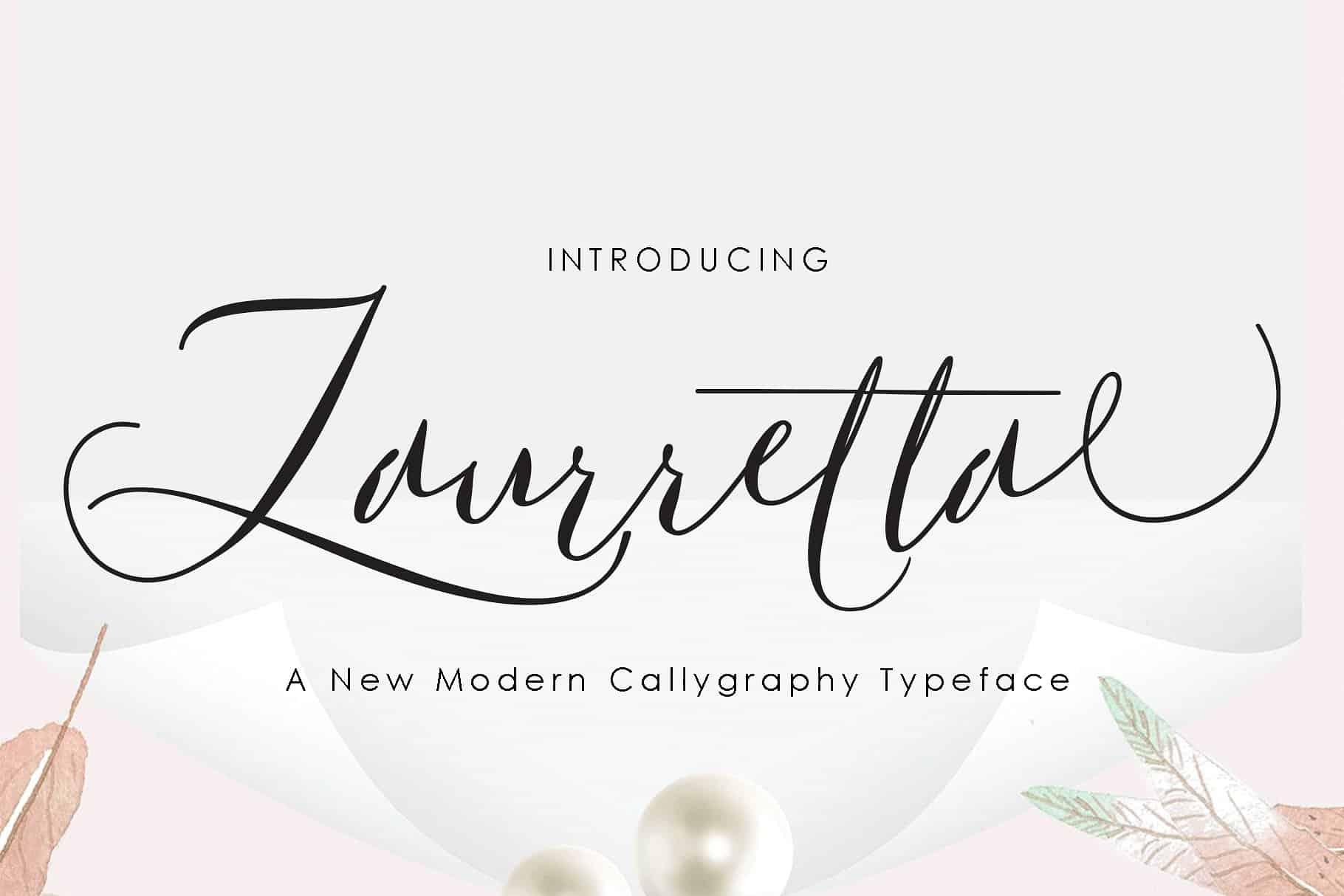 Download Laurretta font (typeface)