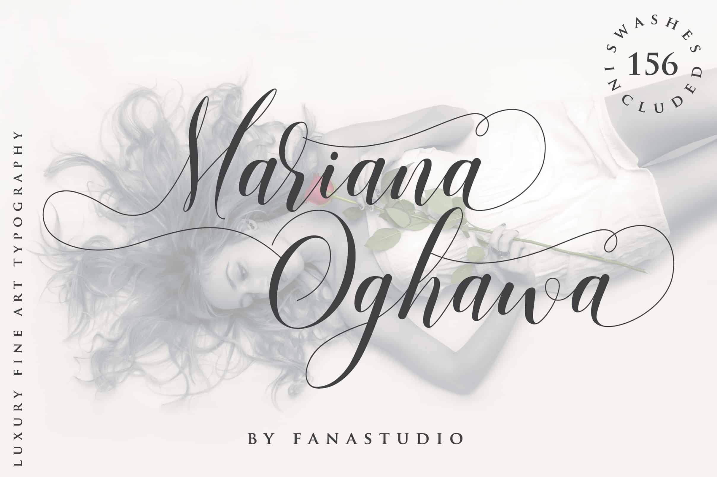 Download Mariana Oghawa font (typeface)
