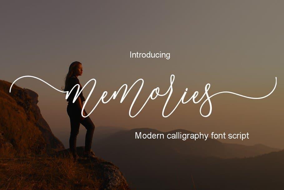 Download Memories font (typeface)
