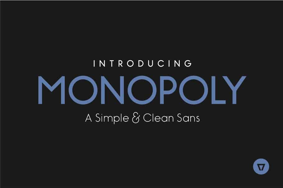 Download Monopoly font (typeface)
