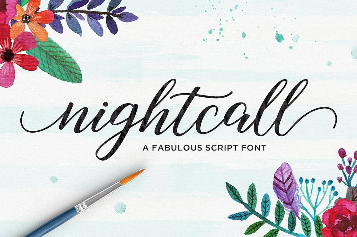 Download Nightcall font (typeface)