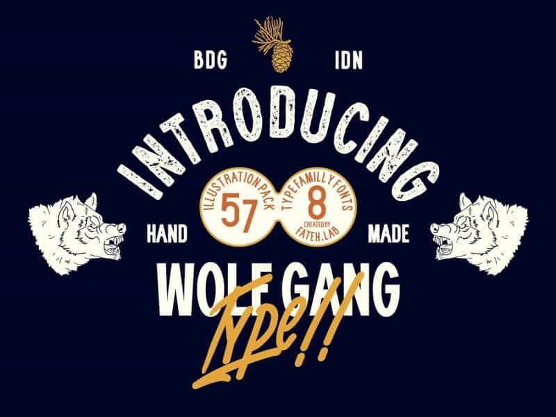 Download Wolf Gang font (typeface)