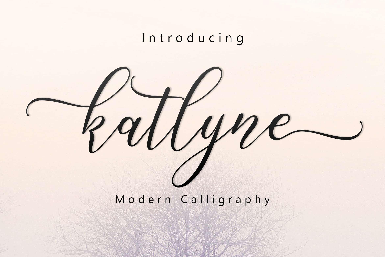 Download Katlyne font (typeface)