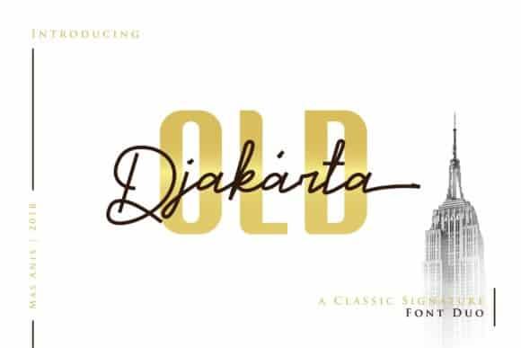 Download Old Djakarta font (typeface)
