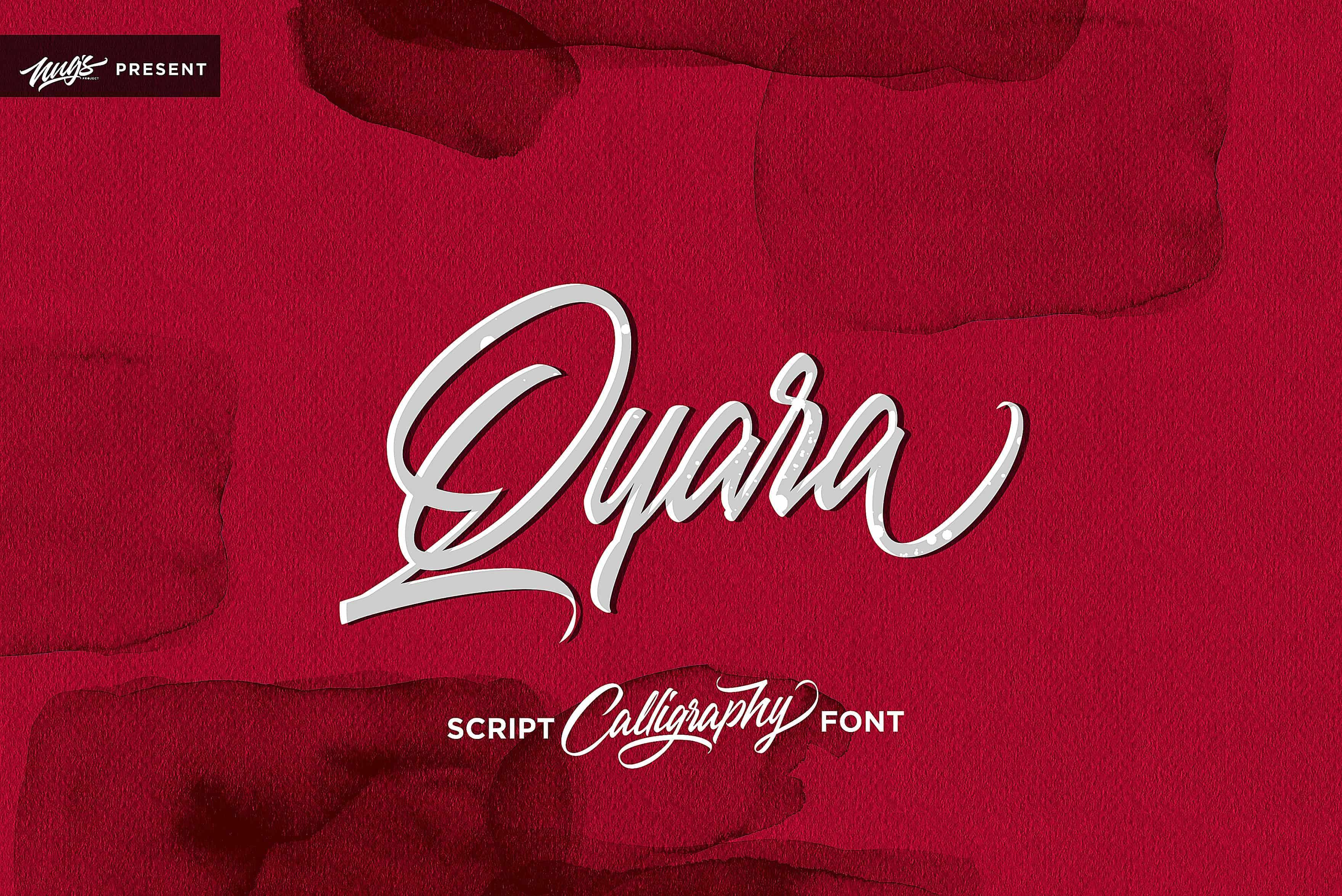 Download Qyara font (typeface)