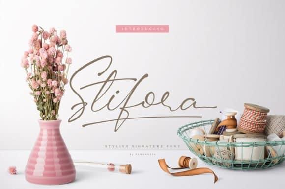Download Stifora font (typeface)