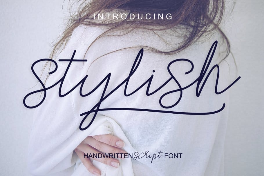 Download Stylish font (typeface)