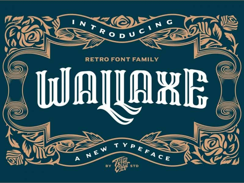 Download Wall Axe font (typeface)