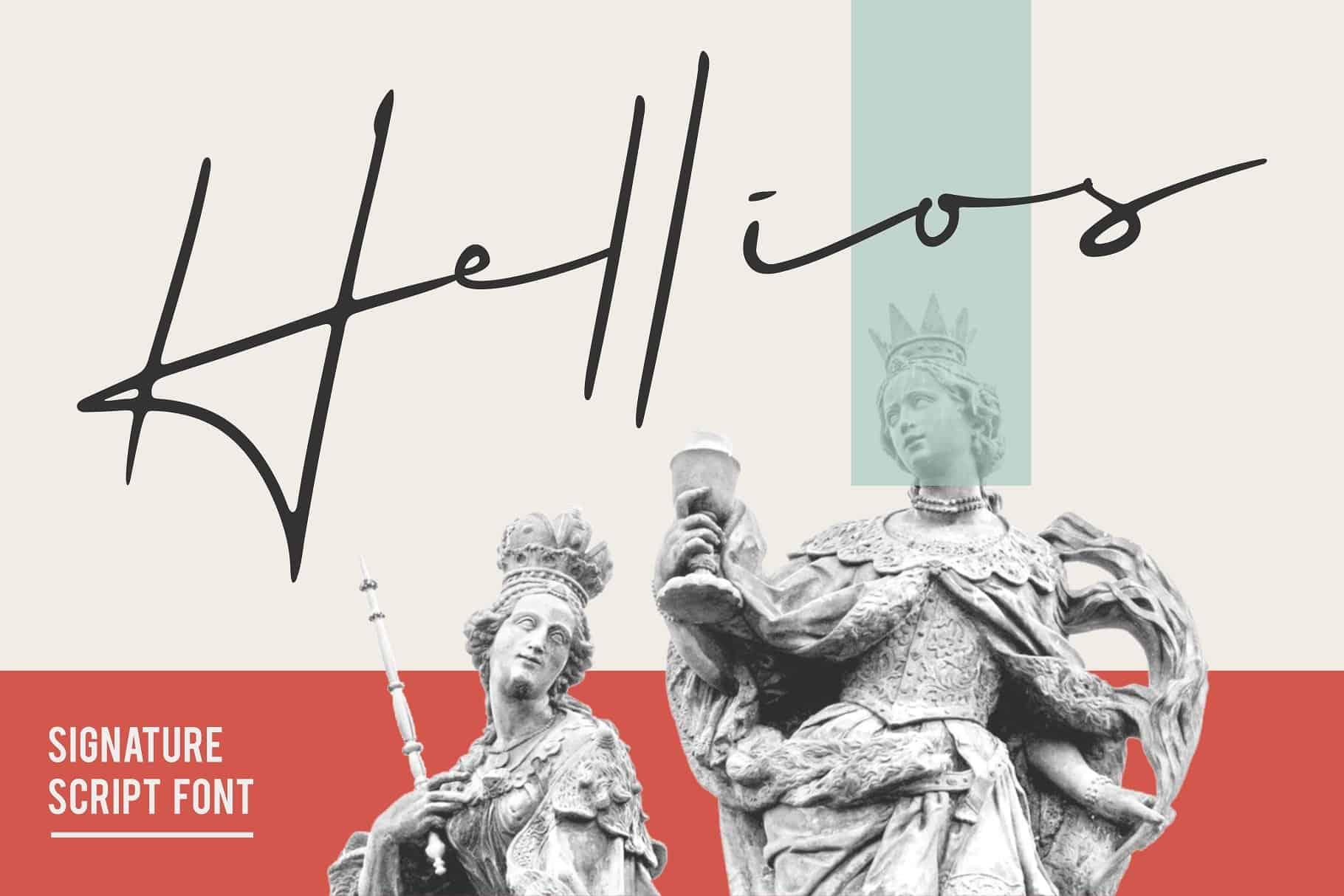 Download Hellios font (typeface)
