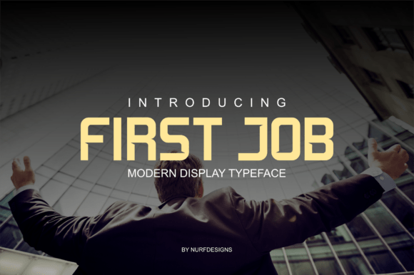 Download First Job font (typeface)