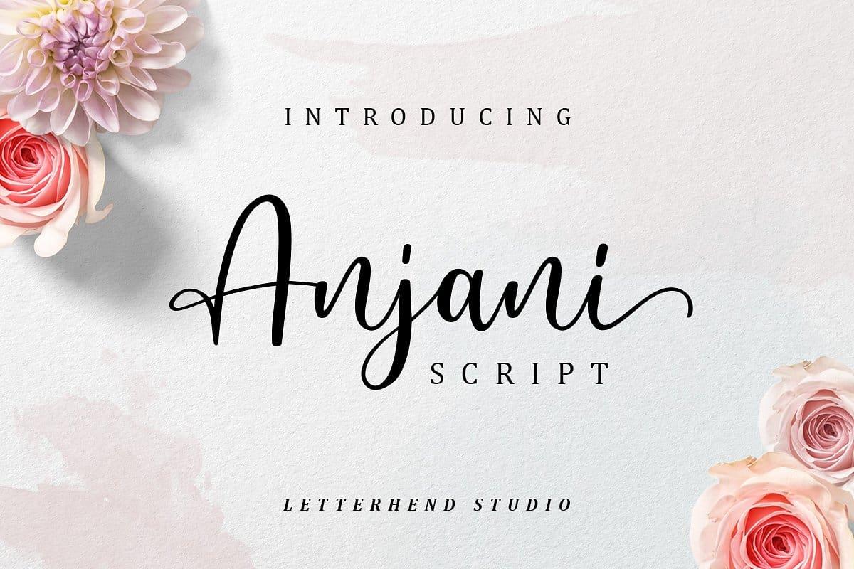 Download Anjani font (typeface)