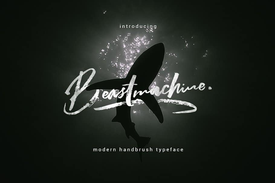Download Beastmachine font (typeface)