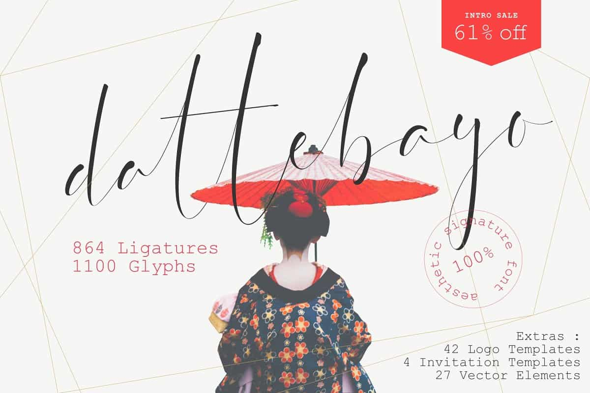 Download Dattebayo font (typeface)