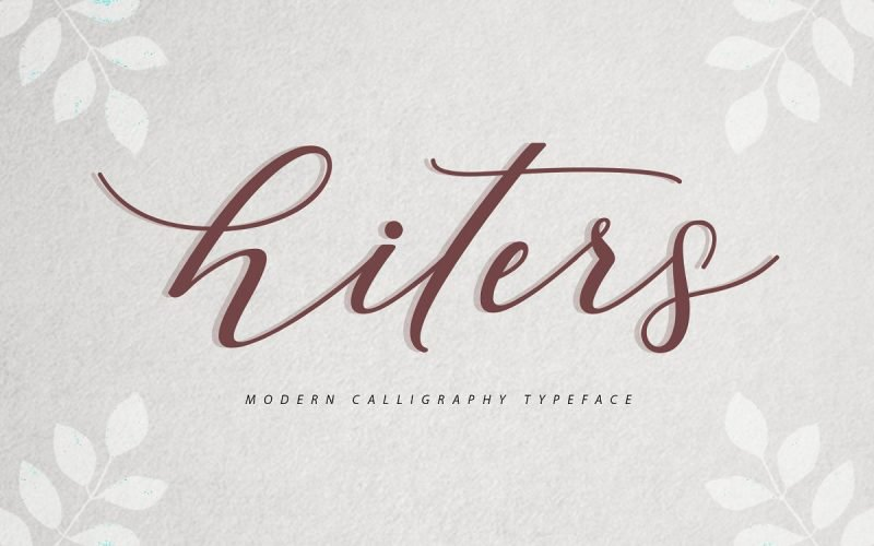 Download Hiters font (typeface)