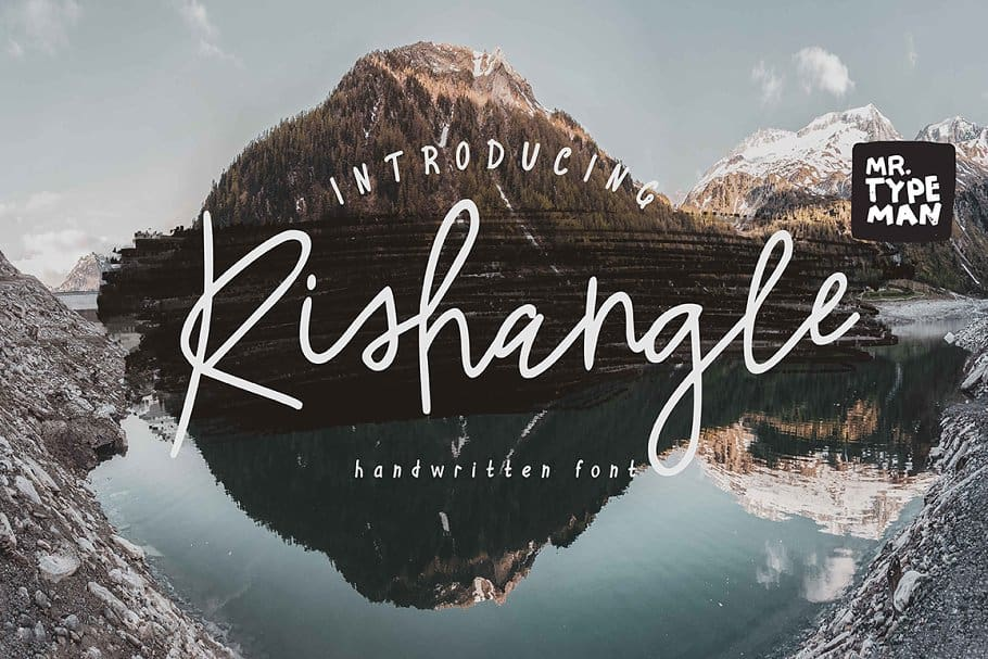 Download Rishangle font (typeface)