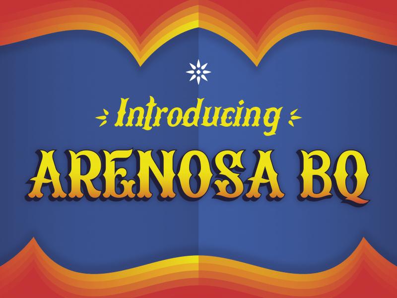 Download Arenosa BQ font (typeface)