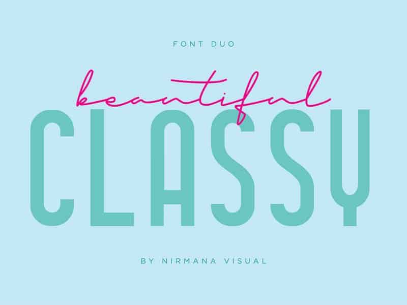 Download Classy Beauty font (typeface)