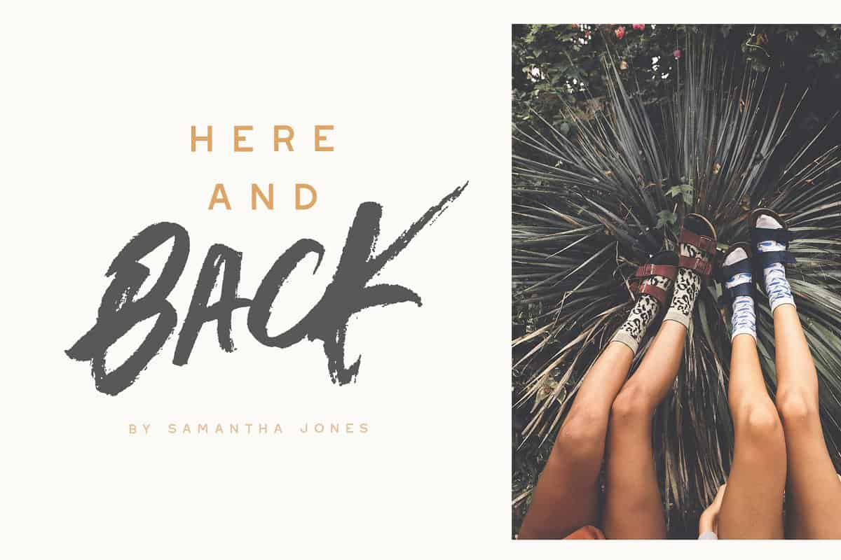 Download Outback Brush font (typeface)