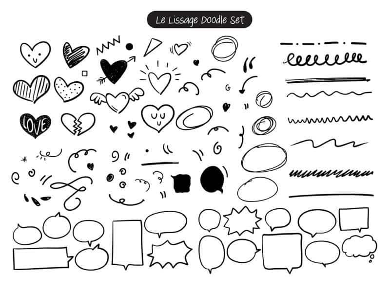 Download Le Lissage font (typeface)