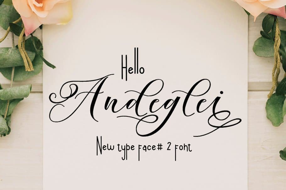 Download Andeglei font (typeface)