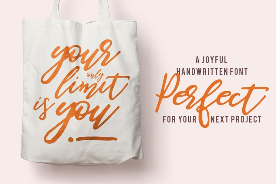 Download Be Perky! font (typeface)