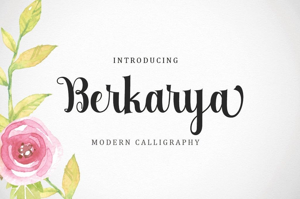 Download Berkarya font (typeface)