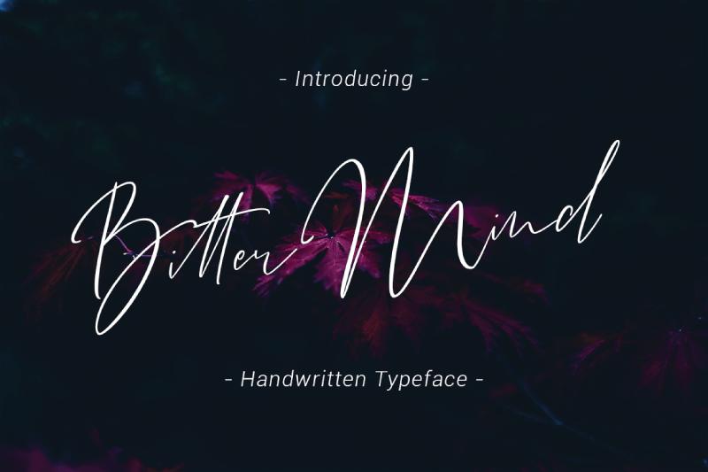 Download Bitter Mind font (typeface)