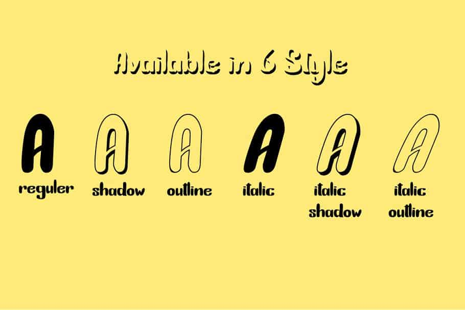 Download Bunny Funny font (typeface)