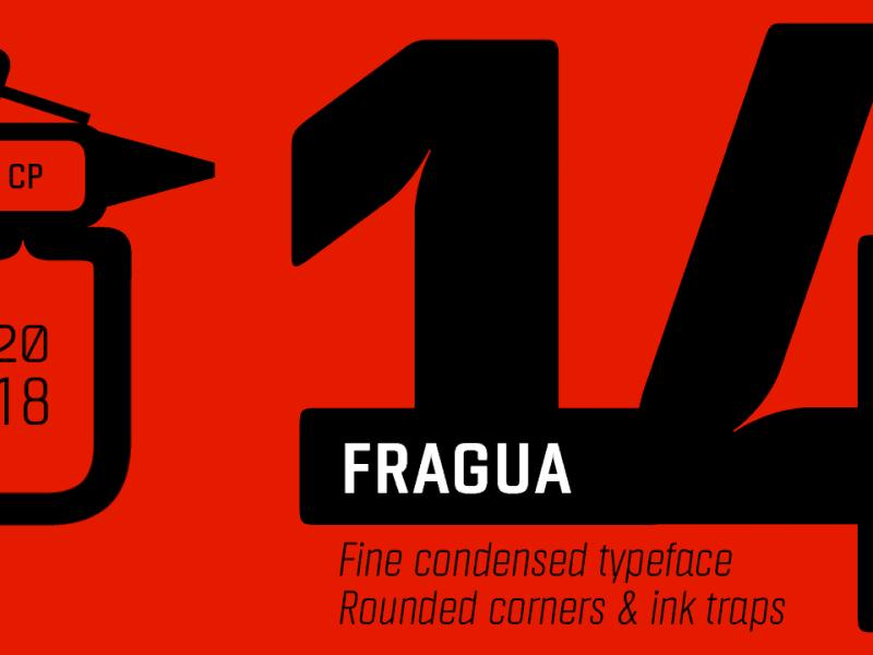 Download Fragua font (typeface)