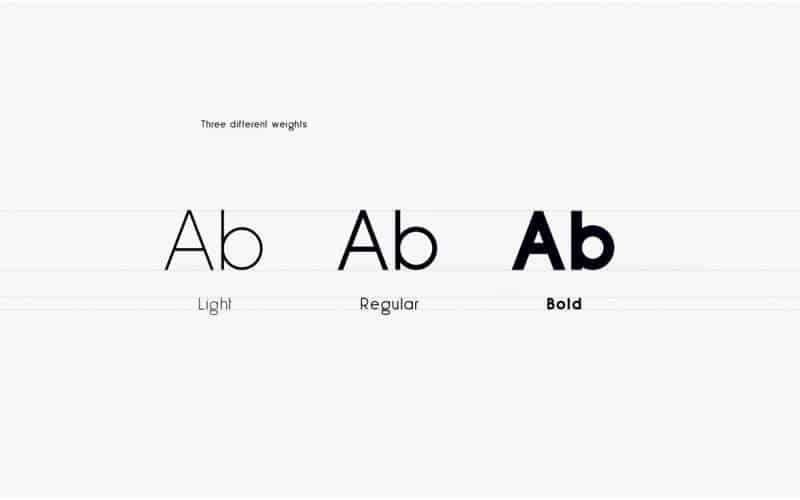 Download Less Sans Minimal font (typeface)