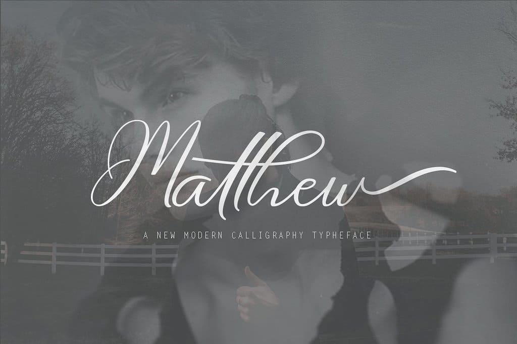 Download Matthew font (typeface)