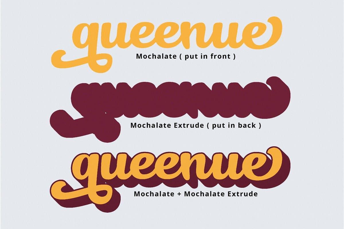 Download Mochalate font (typeface)