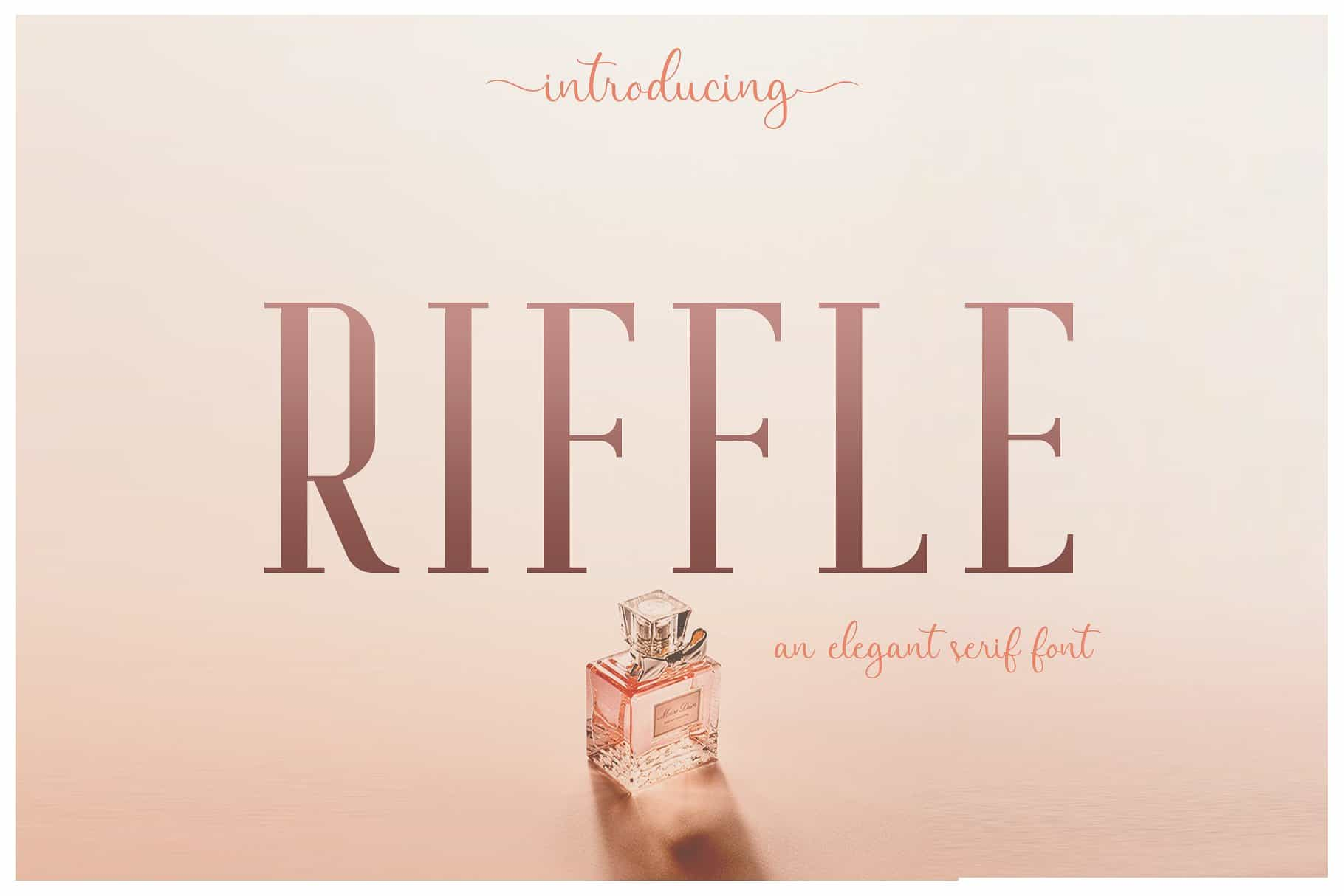 Download Riffle font (typeface)