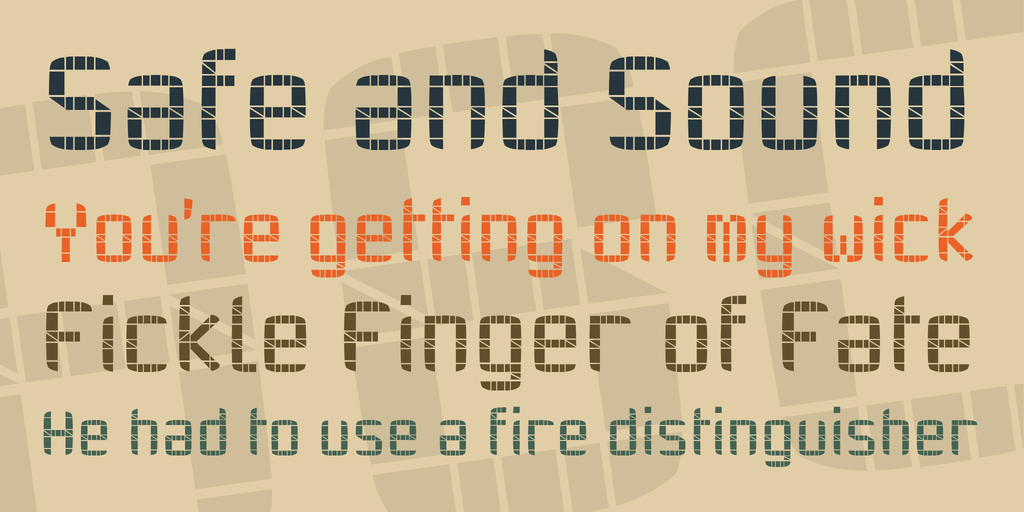 Download TWENTY-SEVEN font (typeface)