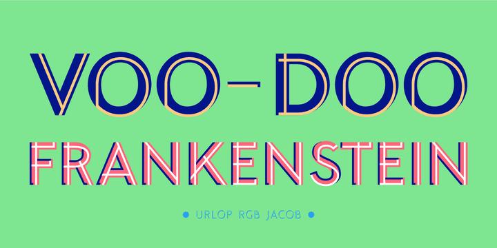 Download URLOP Colour Family font (typeface)