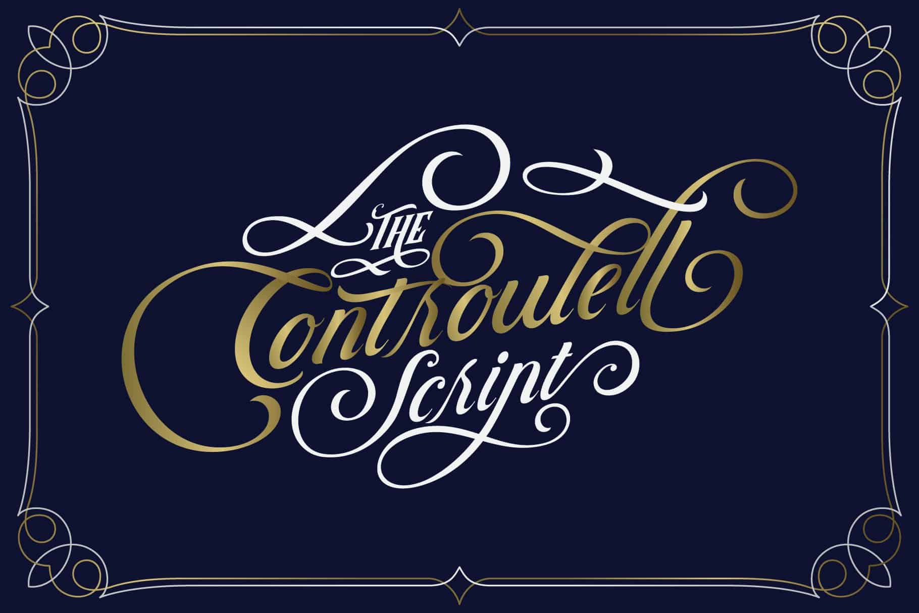Download Controwell Victorian Typeface font (typeface)