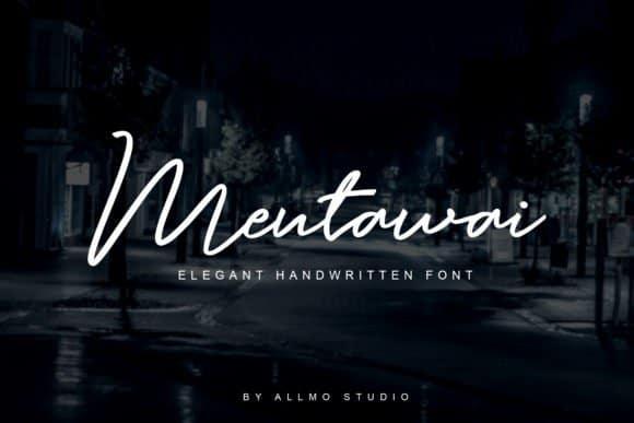 Download Mentawai font (typeface)