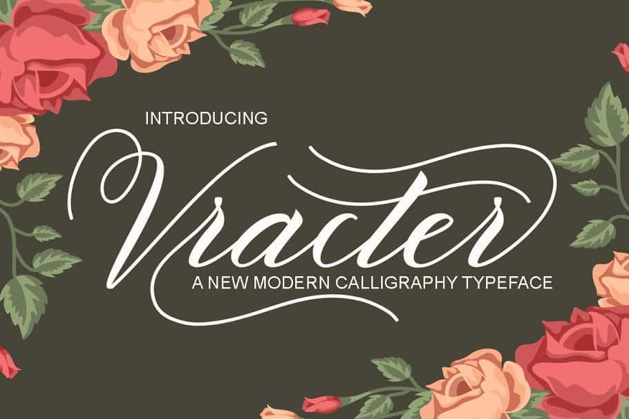 Download Vracter font (typeface)