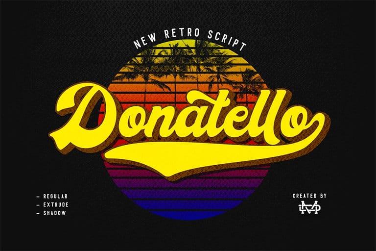 Download Donatello font (typeface)