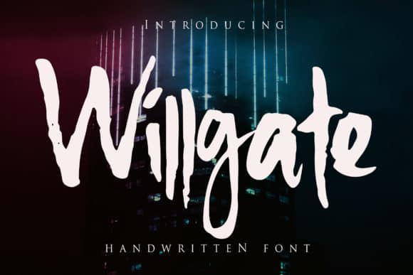 Download Willgate font (typeface)