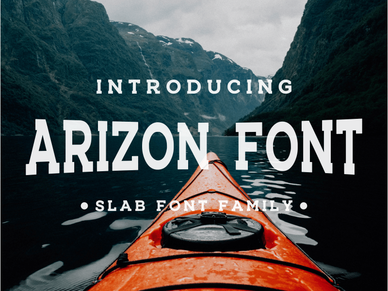 Arizon шрифт скачать бесплатно