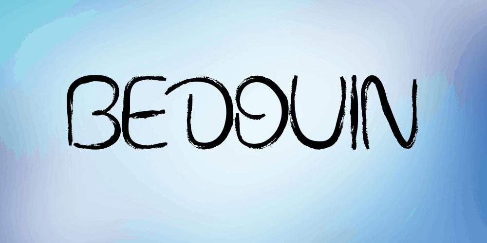 Download Bedouin font (typeface)
