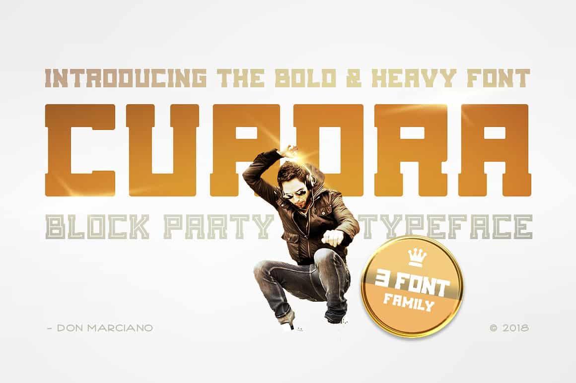Download Cuadra font (typeface)