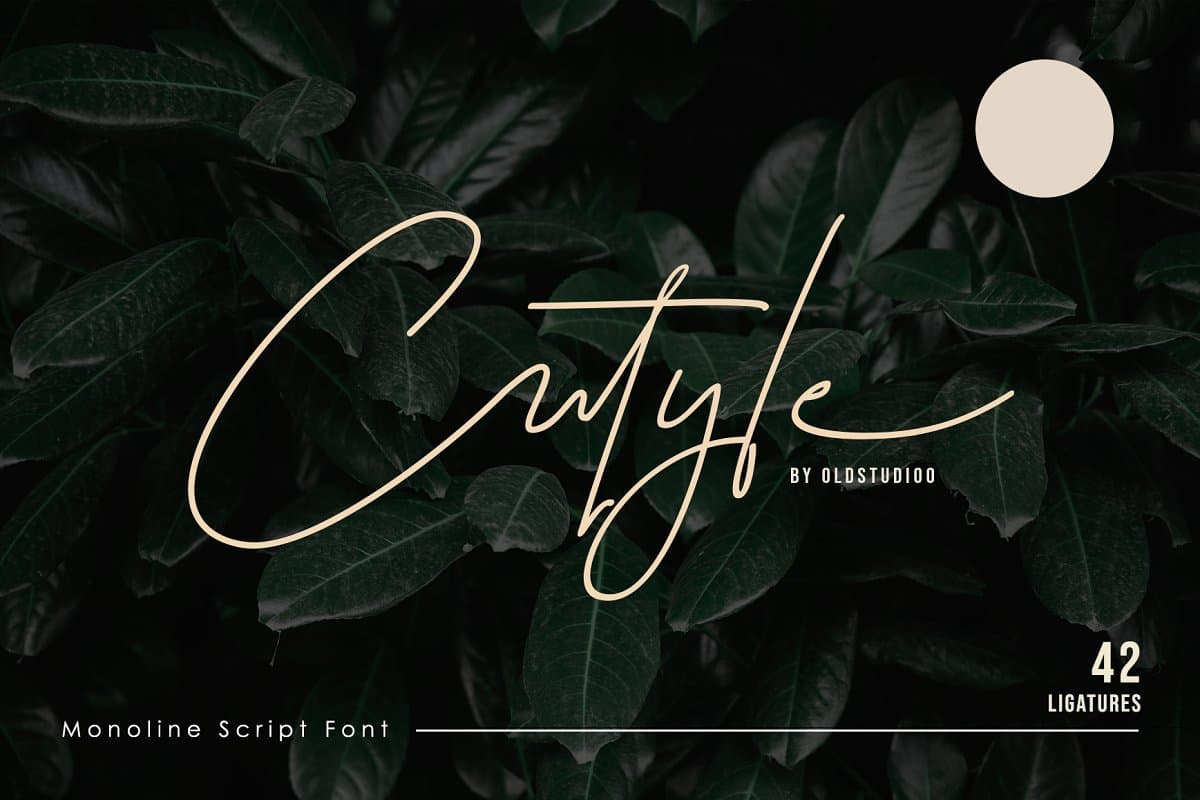 Download Cutyle font (typeface)