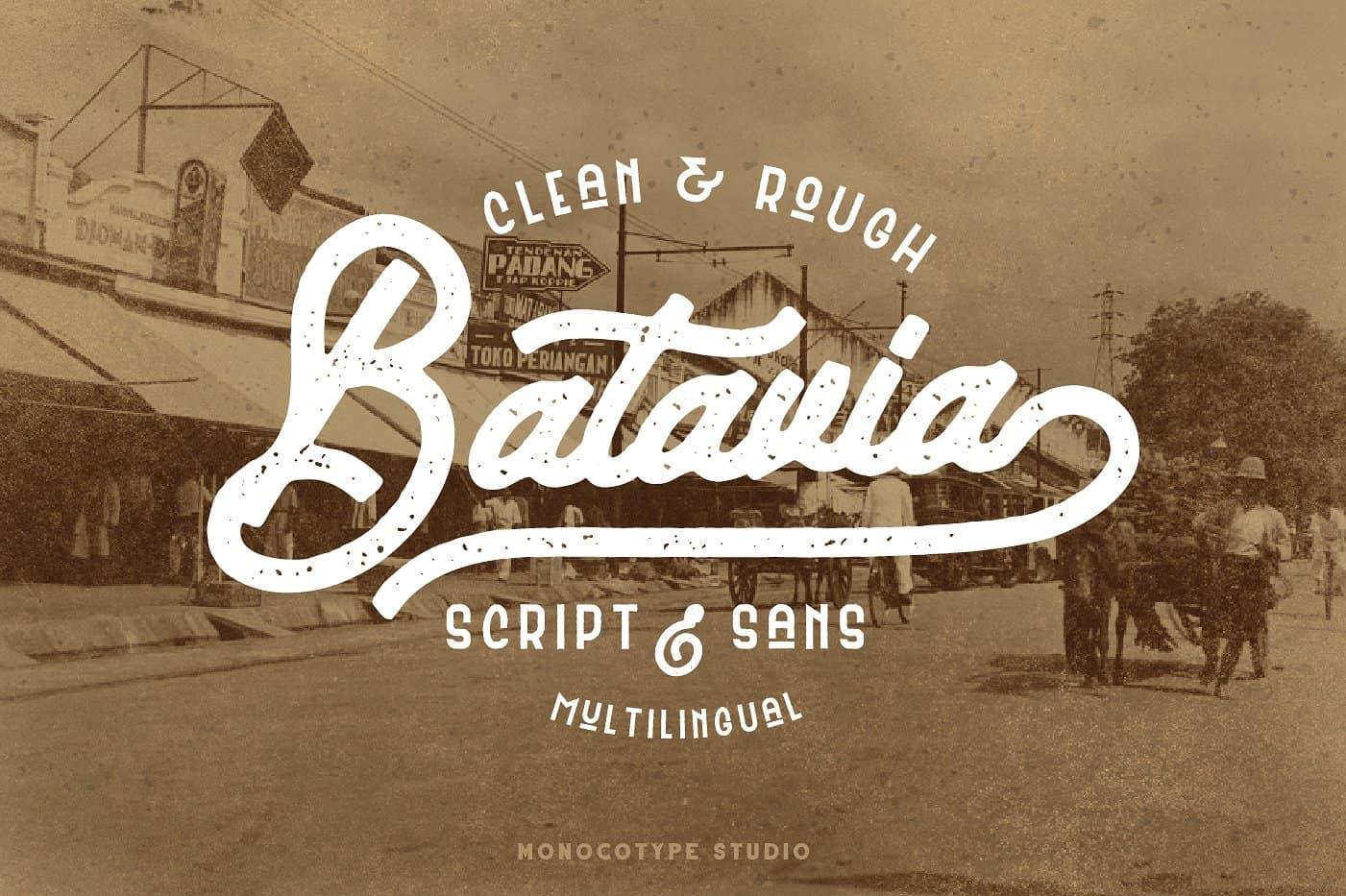 Download Batavia font (typeface)