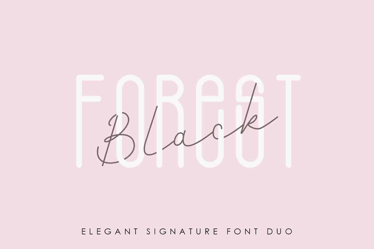 Black Forest шрифт скачать бесплатно