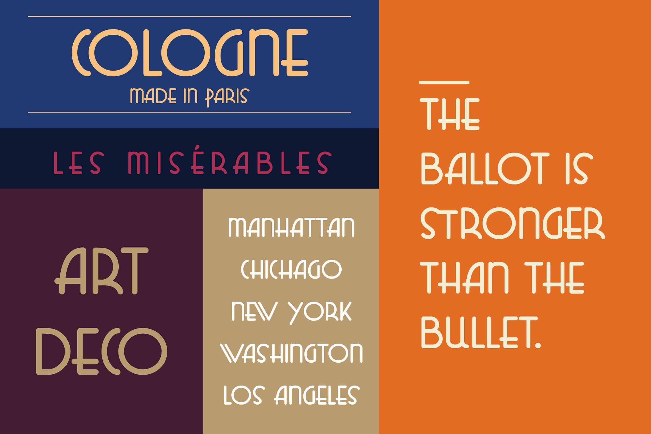 Download Cleveland Sans Deco font (typeface)