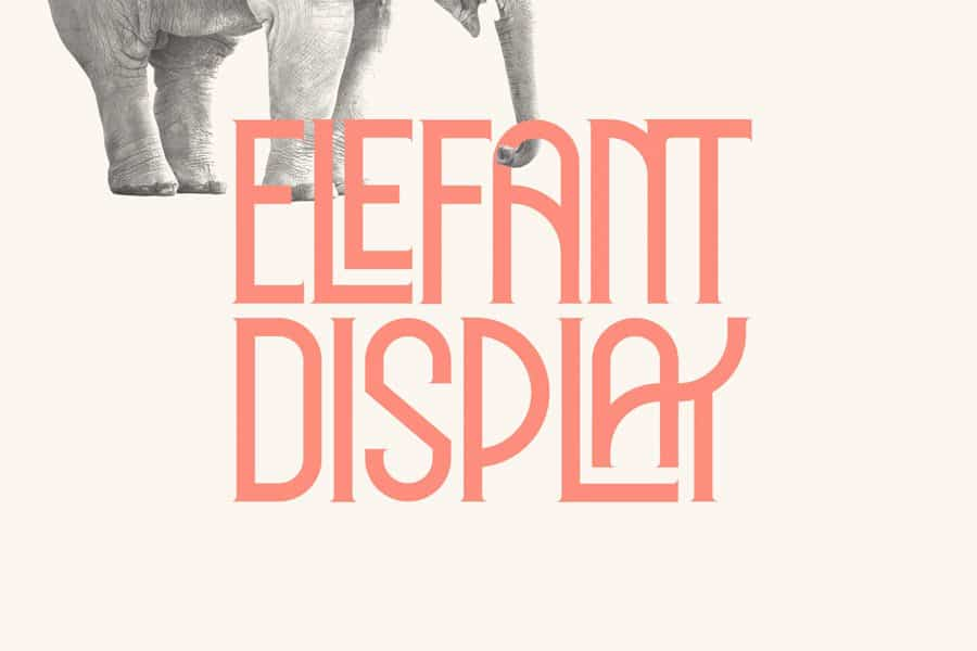 Download Elephant font (typeface)