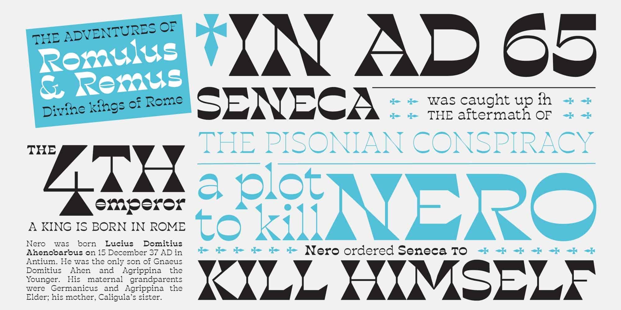 Download Blackest font (typeface)