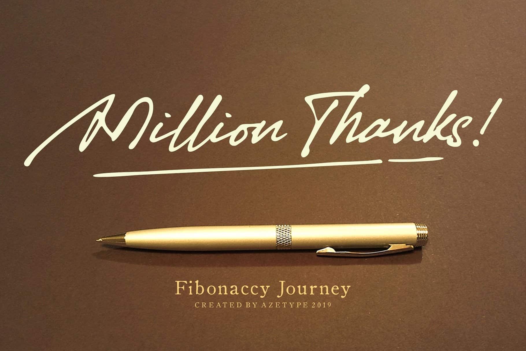 Download Fibonaccy font (typeface)